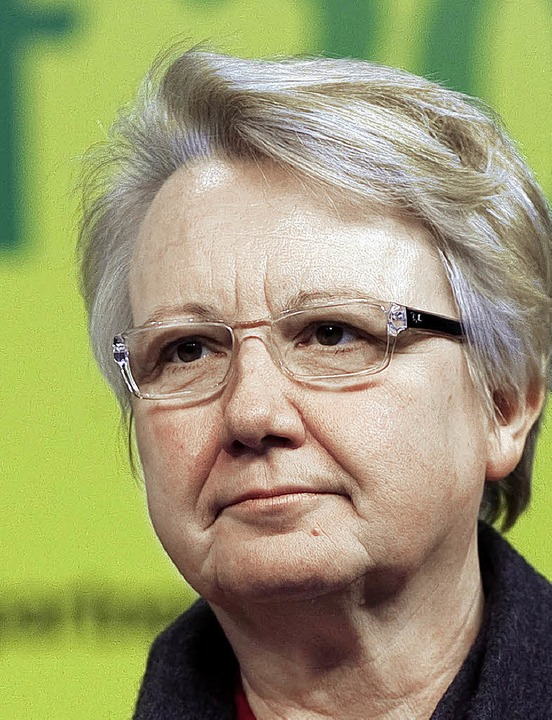 Annette  Schavan (CDU)    Foto: dpa