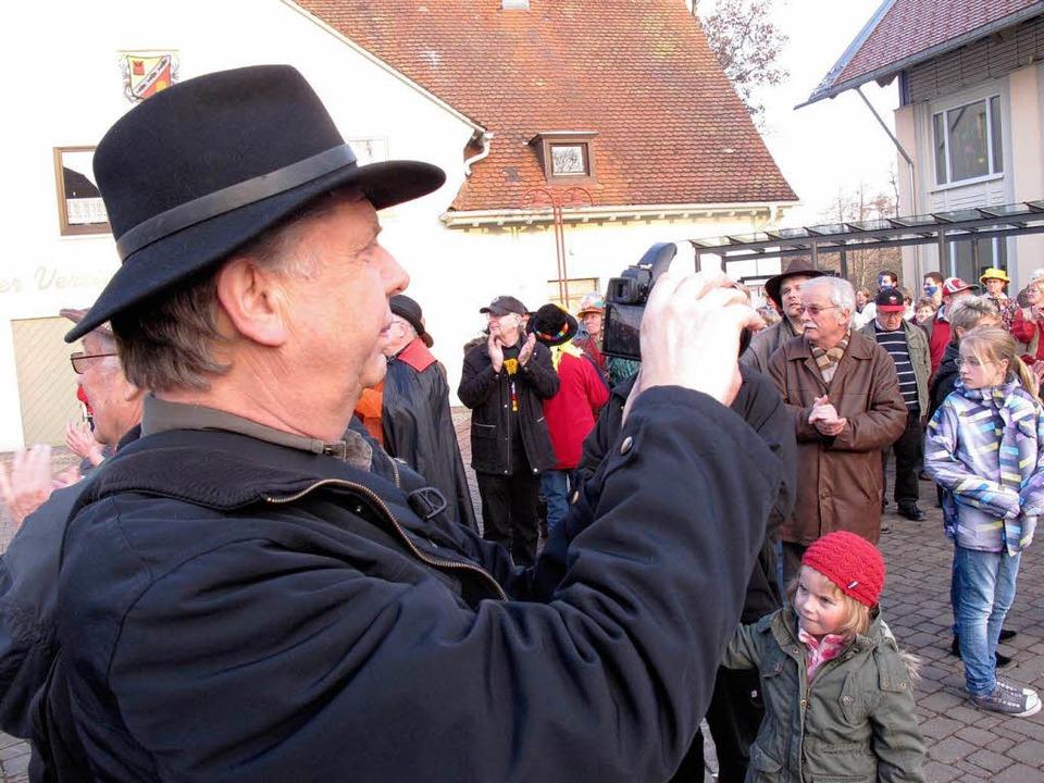 Das 30. Schlüchttalnarrentreffen hat a... eigens zu dem Ereignis angereist war.    Foto: Birgit Rüde