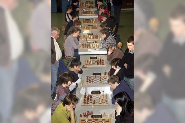 Schüler im Schach-Fieber