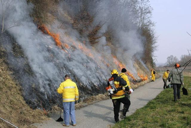 Mit Feuer und Flamme für Naturschutz