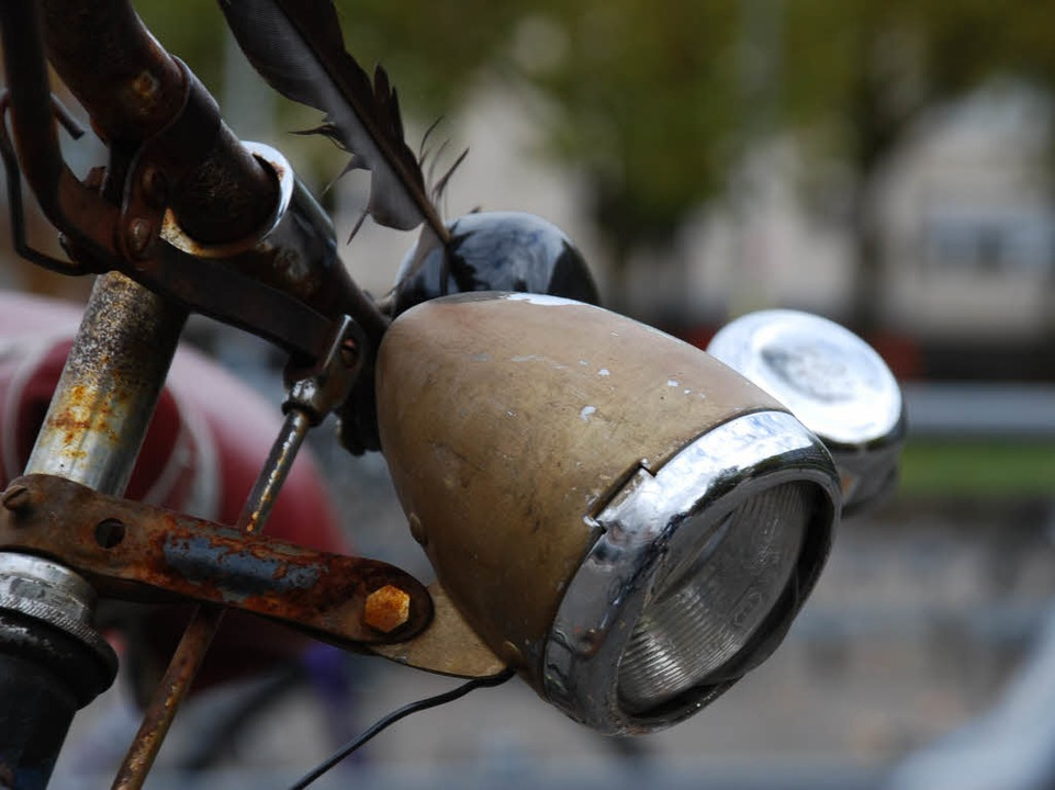 Robust und jederzeit startklar: die Dynamobeleuchtung.  | Foto: Carlotta Huber