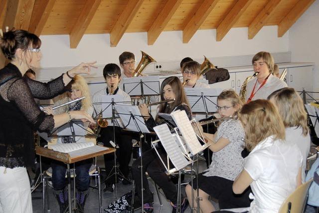 Mit Vorspielen Interesse für die Musikvereine wecken