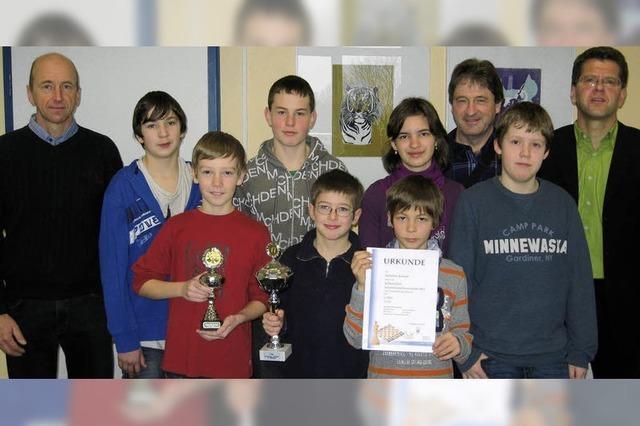 Südbadische Meister im Schulschach