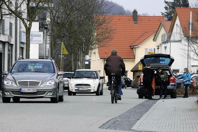 Dauerparker sollen dem Ortszentrum fernbleiben