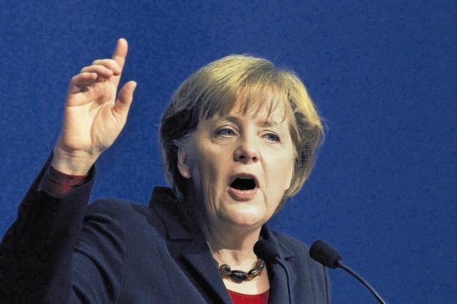 Kanzlerin Merkel kommt