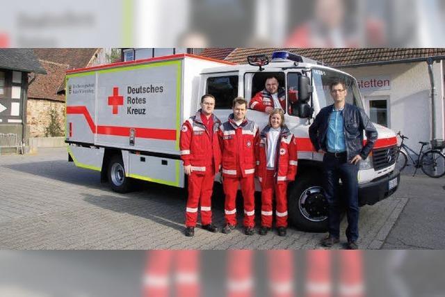 Neues Einsatzfahrzeug fürs Rote Kreuz in Vörstetten