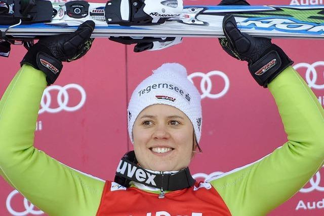 Viktoria Rebensburg hat mit 20 Olympia-Gold gewonnen