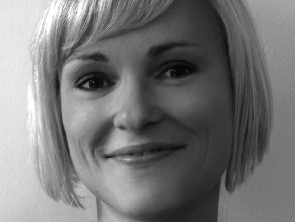 Stefanie Knoren: Im Web-Design gilt das Prinzip weniger ist mehr.