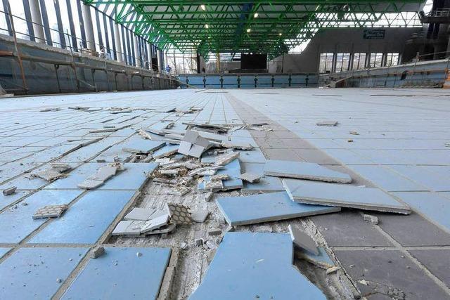 Wiedereröffnung des Freiburger Westbads verschiebt sich weiter