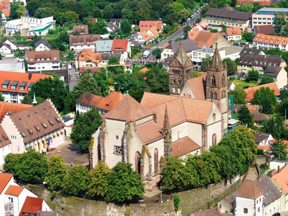 Der Breisacher Münsterberg ist als Ensemble denkmalgeschützt.  | Foto: Ari Nahor