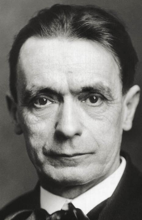 Rudolf Steiner   | Foto: dpa