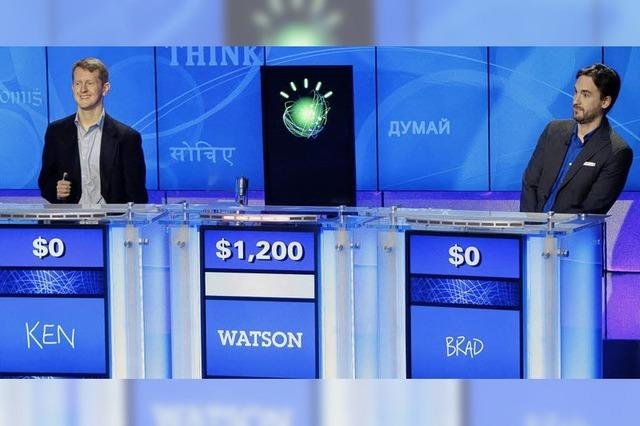 Supercomputer gewinnt bei der TV-Show Jeopardy