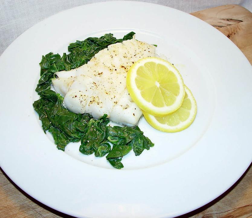 Delikatesse aus dem Norden: gebackenes Skrei-Filet  | Foto: stechl
