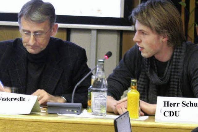 Armin Schuster gibt den Westerwelle