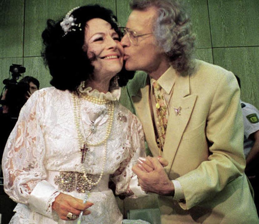 Sektenchefin Uriella und ihr Ehemann Icordo im Jahr 1998.   | Foto: Archivfoto: dpa