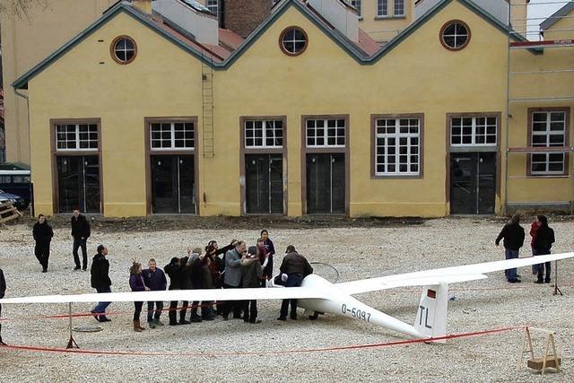 Realschüler lernen Fliegen
