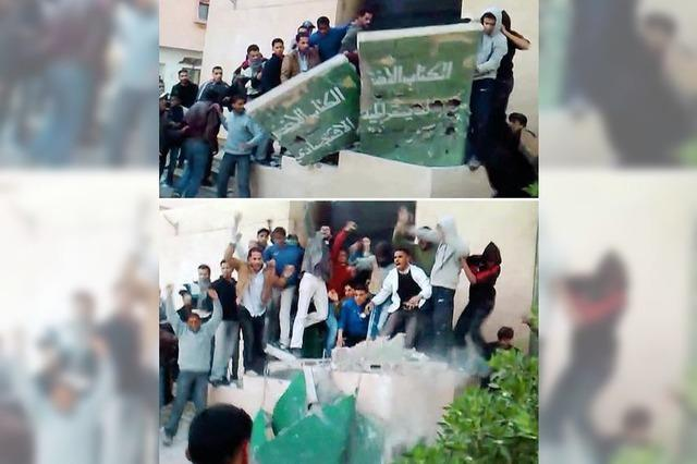 Aufstände in weiten Teilen Libyens