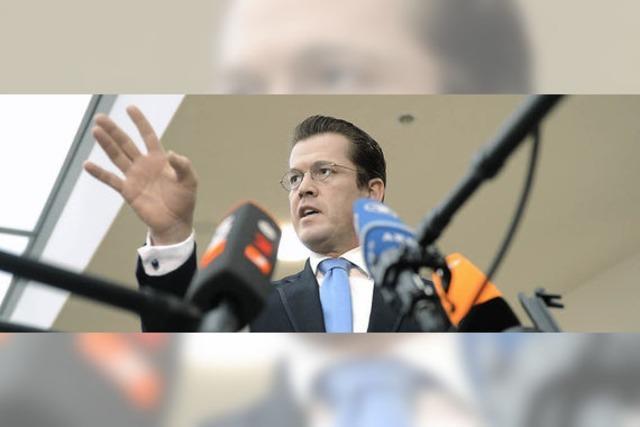 Guttenberg streicht vorerst den
