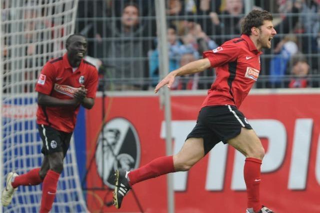 SC Freiburg kämpft Wolfsburg mit 2:1 nieder