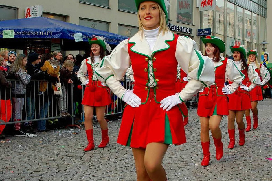 Der Narrentag in Offenburg.