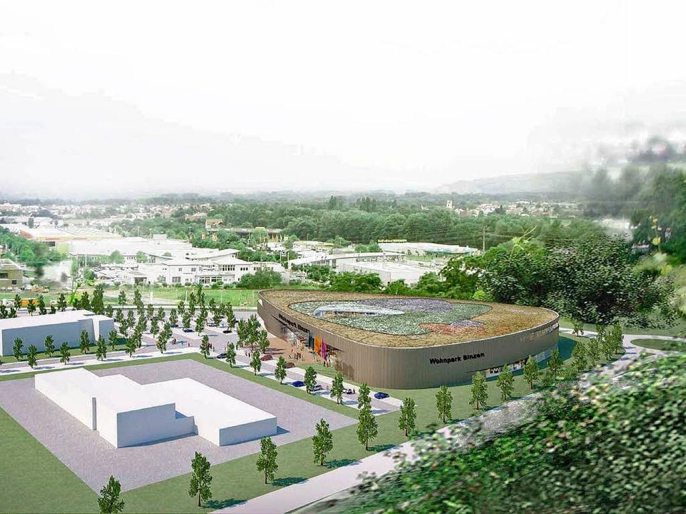 Binzener Dreispitz Möbelmarkt Dogern Baut Wohnpark Binzen