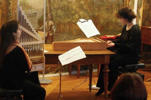 Mit Organetto und Clavisimbalum