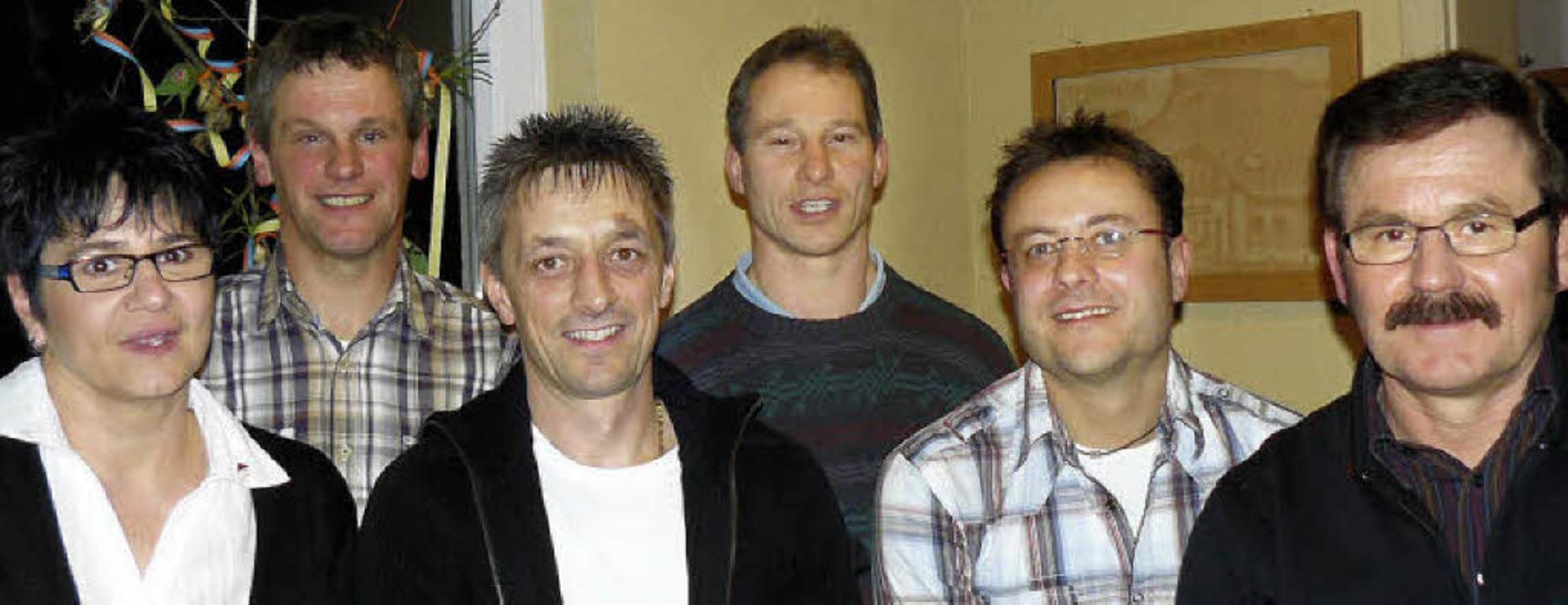 Seit 25 Jahren halten sie dem SV St. M...r Schuler, Andi Hog und Erich Willmann    Foto: Edeltraud Blume