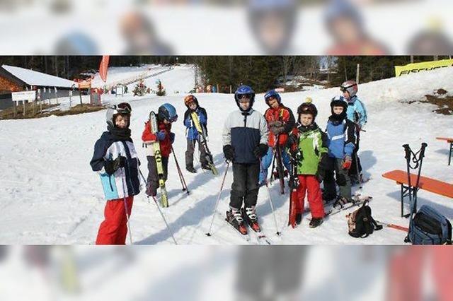 Ski, Rodel und Eislauf