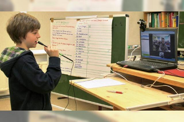 Schüleraustausch per Videokonferenz