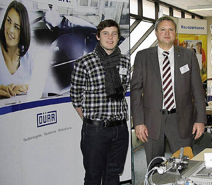 Präsentation der Firma Dürr    Foto: Weber-Kroker