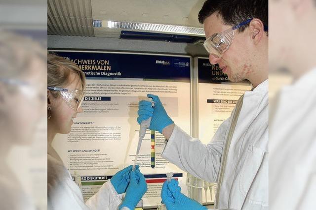 BioLab macht Halt bei den Gewerblichen Schulen