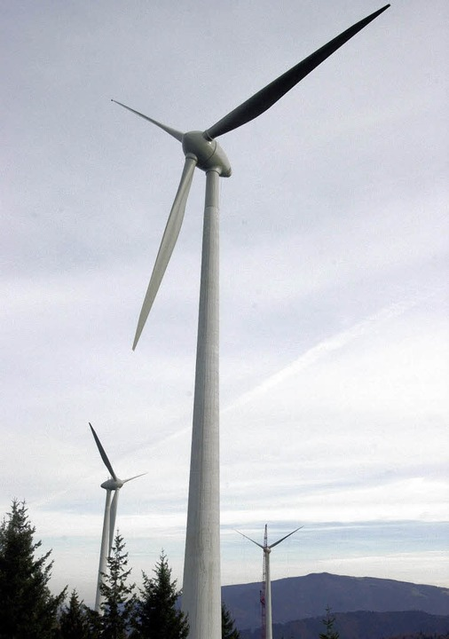 Der Ausbau der Windkraft in Südbaden dauert zu lange.    Foto: DPA