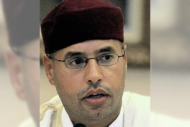 Gaddafis Sohn ruiniert sein gutes Image