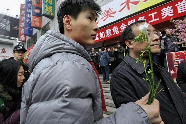 Chinesische Aktivisten wollen die arabische Revolten kopieren