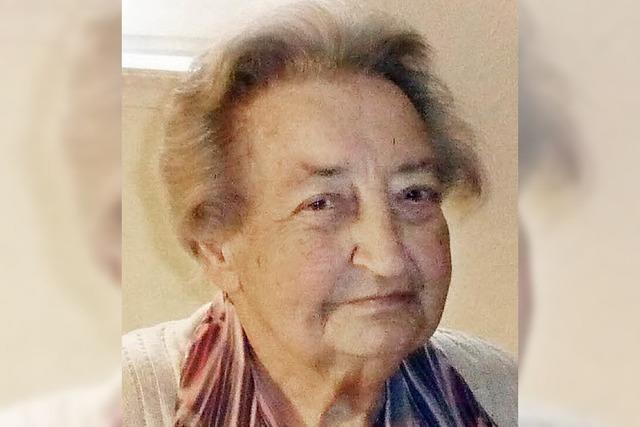 Erika Mick wurde 85 Jahre