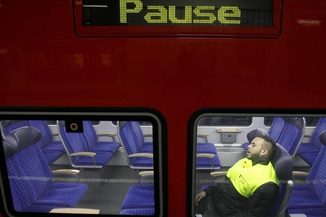 Lokführerstreik wirkt sich auf Rheintalbahn aus