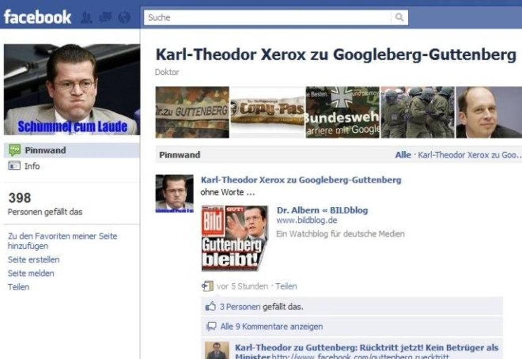 Karl-Theodor Xerox zu Googleberg-Guttenberg