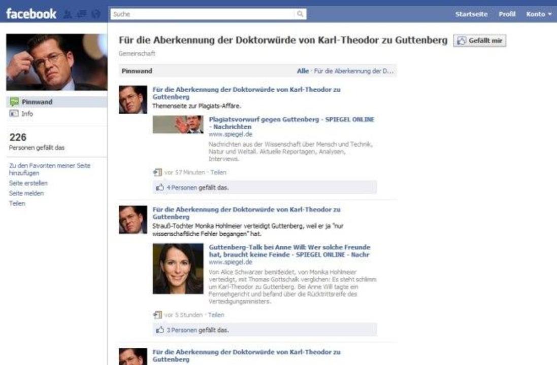 Für die Aberkennung der Doktorwürde von Karl-Theodor zu Guttenberg