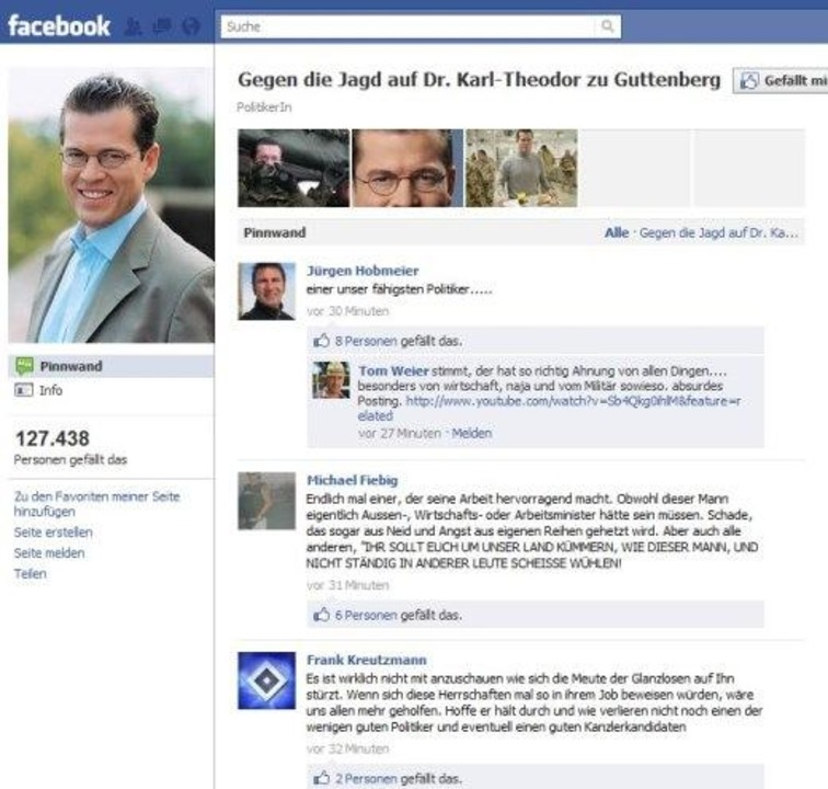 Gegen die Jagd auf Dr. Karl-Theodor zu Guttenberg