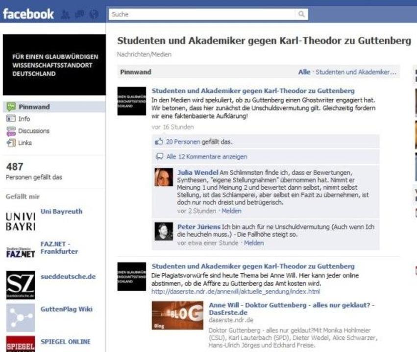 Studenten und Akademiker gegen Karl-Theodor zu Guttenberg