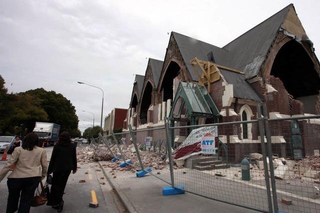 Heftiges Erdbeben in Neuseeland