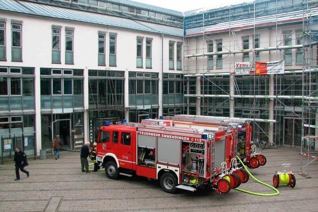 Feueralarm im Rathaus