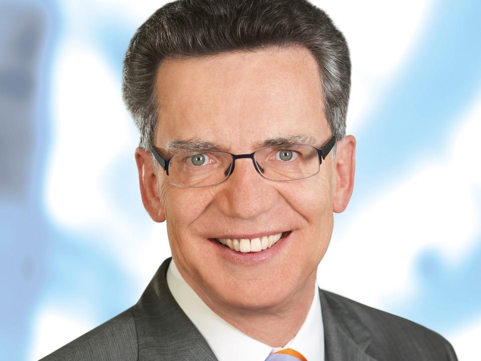 Bundesinnenminister Thomas de Maizìere (CDU)