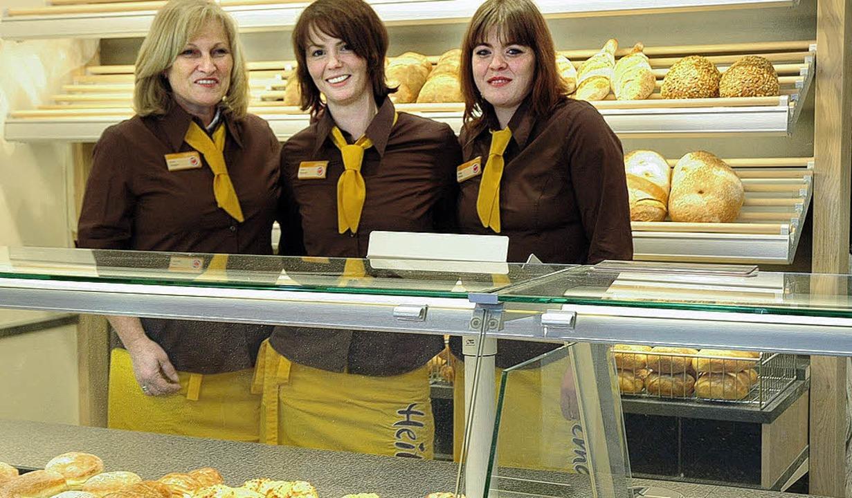 Freuen sich auf die Eröffnung und die ... Seeger, Juliane Hünsch, Manuela Franz    Foto: heidemarie Wussler