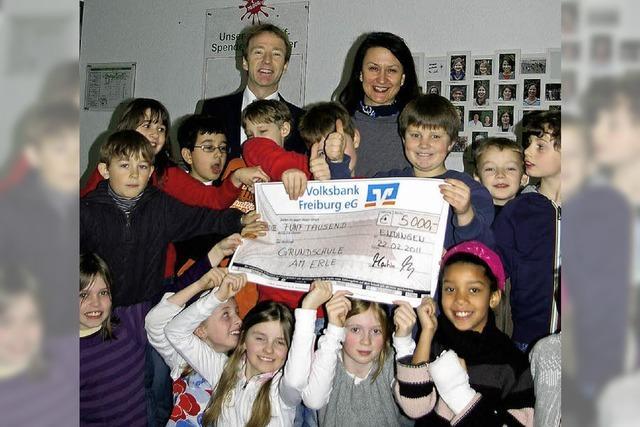 5000 Euro für Schulhof