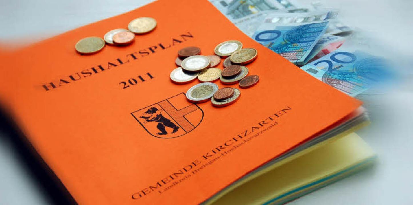 Der Haushaltsplan 2011 der Gemeinde Kirchzarten ist unter Dach und Fach.     Foto: Markus Donner