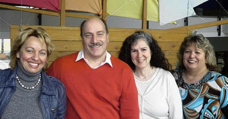 Neuer Vorstand: Die Schulleiterin Beat...uinto und  Ulrike Mischka (von links)     Foto: Schule