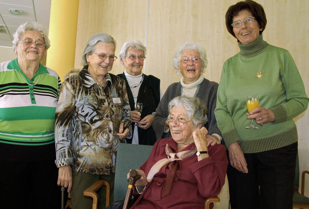 Ehrund für die Ehrenamtlichen, die es am längsten betrieben haben  | Foto: Sylvia-Karina Jahn