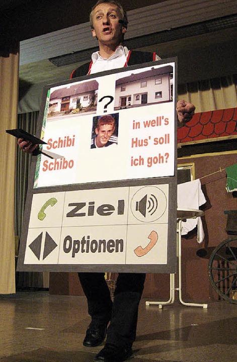 Klemens Disch erörterte die Vorzüge ei...iebeschläger wieder nach Hause zurück.  | Foto: Thomas Steimer