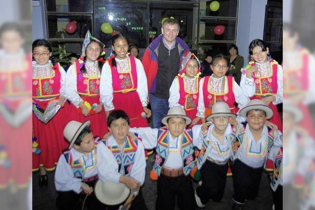 Die Freunde im fernen Huancayo